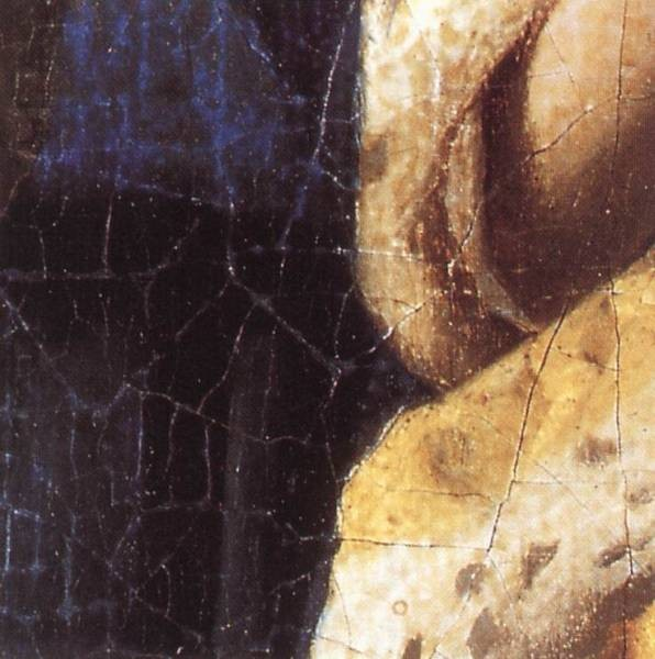Vermeer The Love Letter detail2